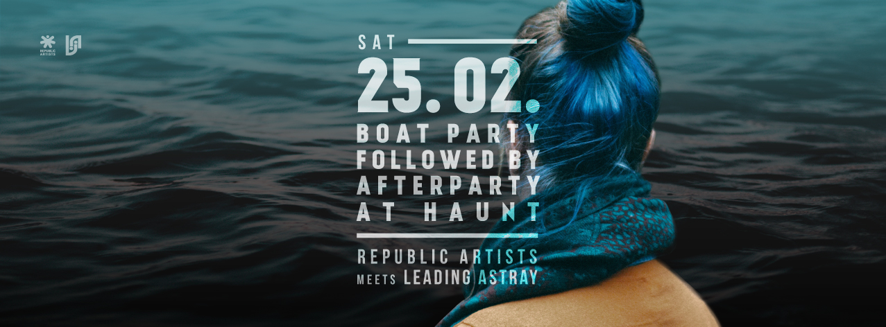 republic artists boat party